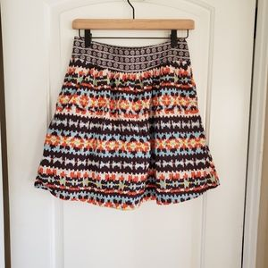 Anthropologie Porridge Women's A-line Size 0 Skirt